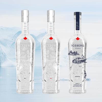 Iceberg water vodka